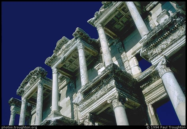 Reconstructed library - Ephasus - Ancient photographs