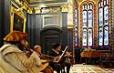 Dragonsfire Quartet in Old Hall - Queens' May Ball 2003