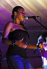 Terri Walker - Terri Walker at Queens' May Ball 2003