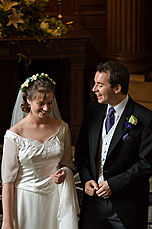 Sophie and Paul - During the service
