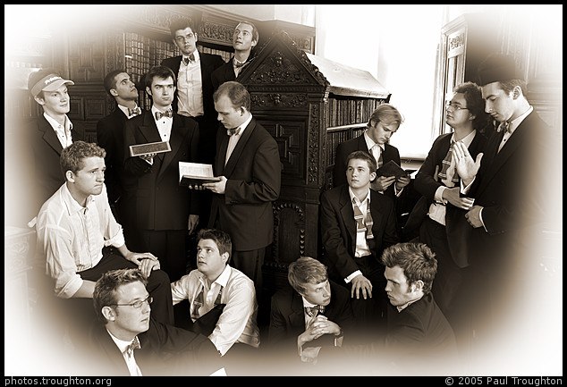 St John's College Library - The Gentlemen of St John's